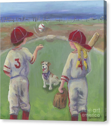 Play Ball - Canvas Print