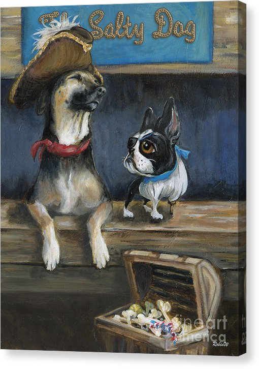 Salty Dogs - Canvas Print