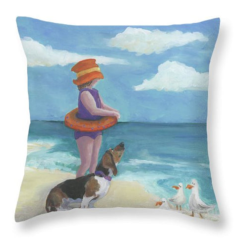 Seaside 3 - Throw Pillow