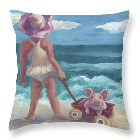 This Little Pig - Throw Pillow