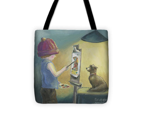 Tiny Artist - Tote Bag