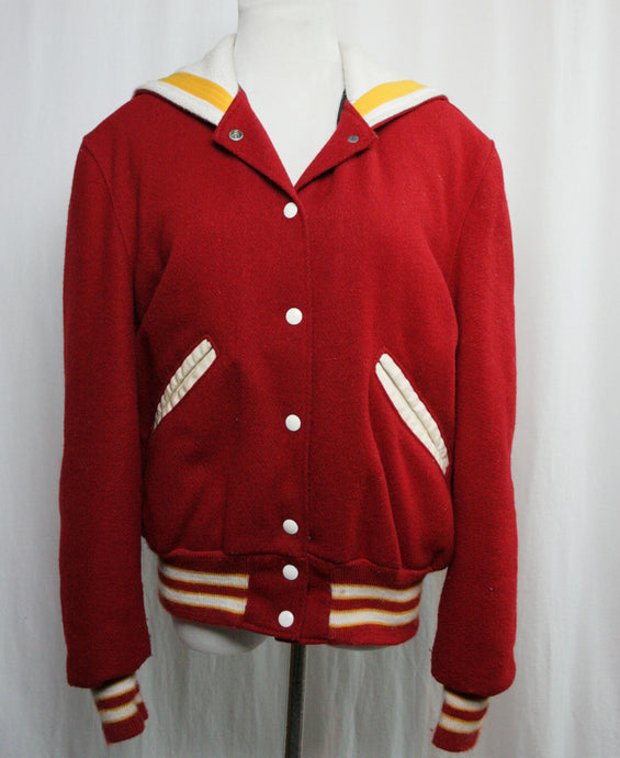 Rah-Rah Varsity Red Jacket