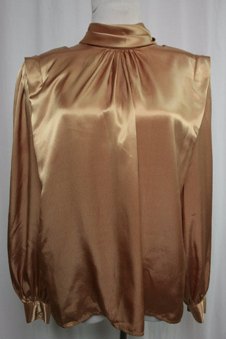 Golden Girl Holiday Blouse