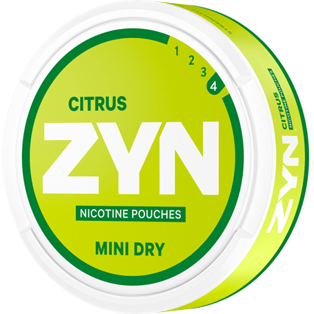 ZYN Citrus Mini Dry Strong