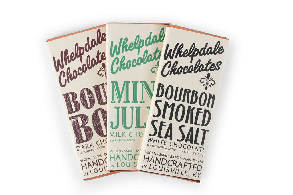 Whelpdale Vegan Bourbon Chocolate Trio