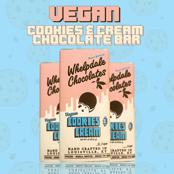 Small Batch Vegan Cookies & Cream Candy Bar
