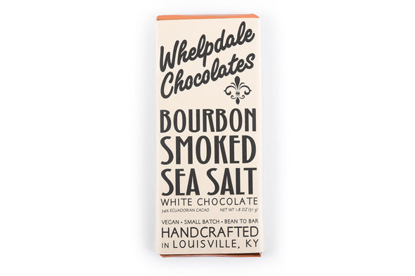 Whelpdale Bourbon Smoked Sea Salt Chocolate