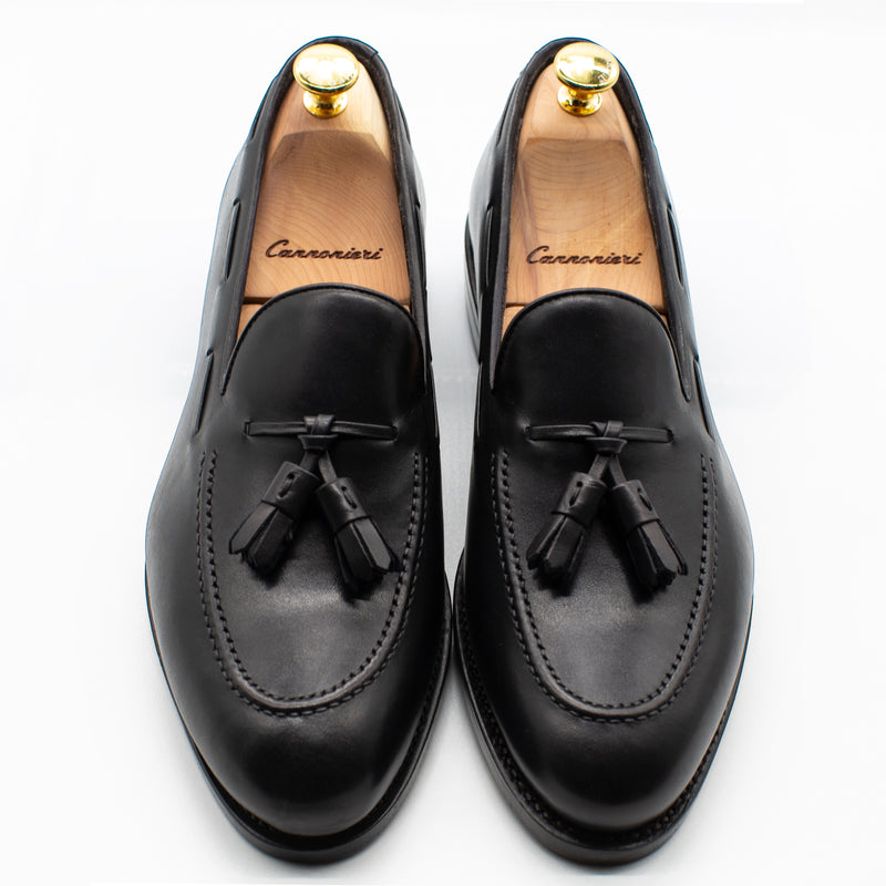 Black - Tasseled loafer