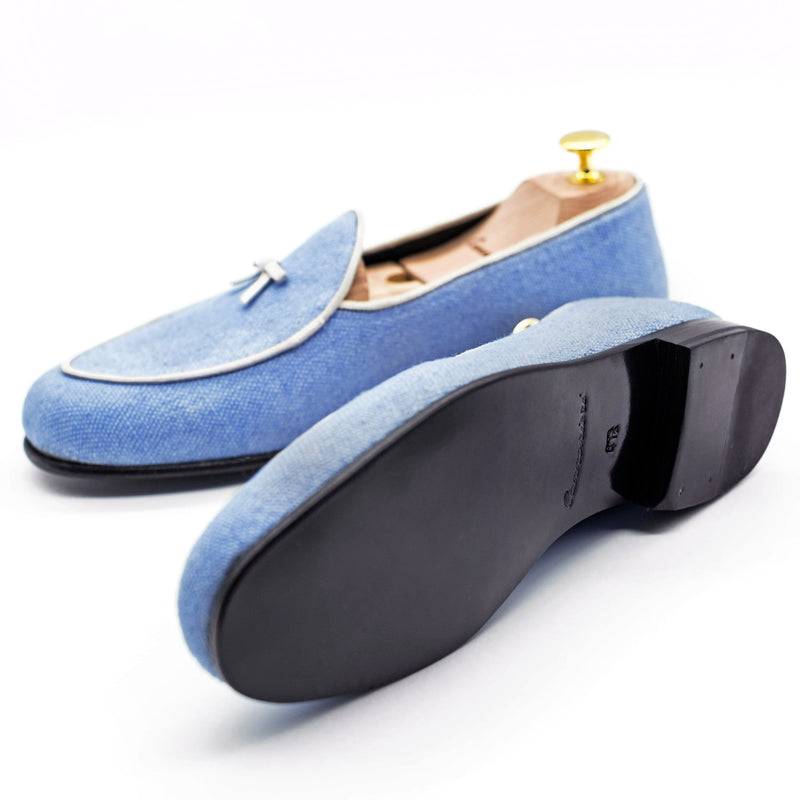 Light Blue - Parma slipper
