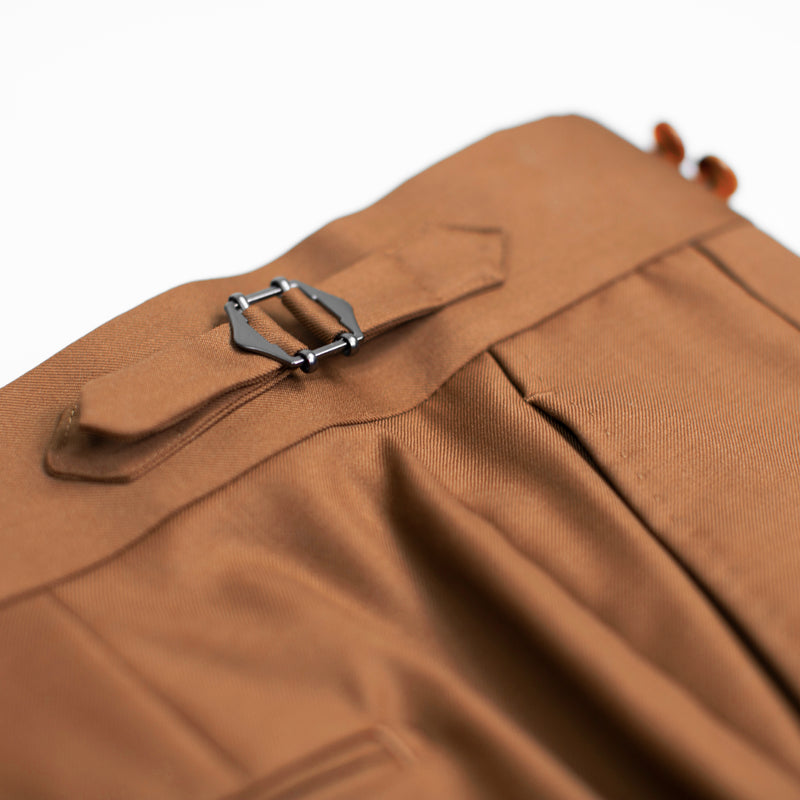 Rust - Fitzrovia/Chelsea Pleated Suit