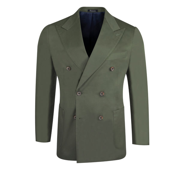 Green - Belgravia Double-Breasted/Chelsea Suit