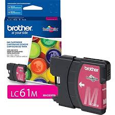 LC61M -  Cartouche originale Brother - Magenta - 325 Pages à 5% de couverture de page - Kartouche Plus