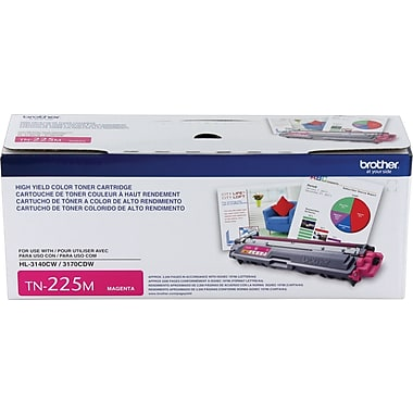TN225M - Cartouche laser originale Brother TN225M - Magenta - 2 200 pages à 5% de couverture de page - Kartouche Plus