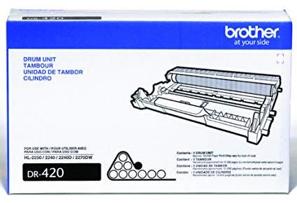 DR420 - Tambour originale pour Brother - 12 000 pages - Kartouche Plus