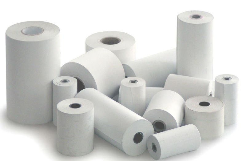 Rouleau thermal - 2 1/4'' x 60' - Thermal roll  Boite de 50 rouleaux - Box of 50 rolls