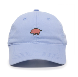 Unstructured Garment Washed Cap - Light Blue