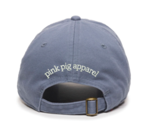Unstructured Garment Washed Cap - Columbia Blue
