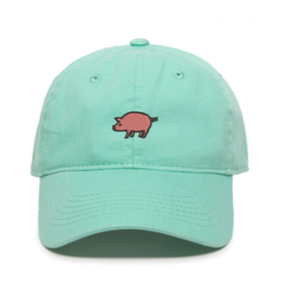 Unstructured Garment Washed Cap - Mint
