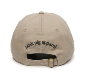 Unstructured Garment Washed Cap - Khaki