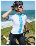 Women's Cycling Bike Jerseys Blue