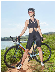 Women Padded Bibs Shorts STEED-RB