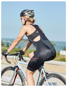 Women Padded Bibs Shorts STEED-WB