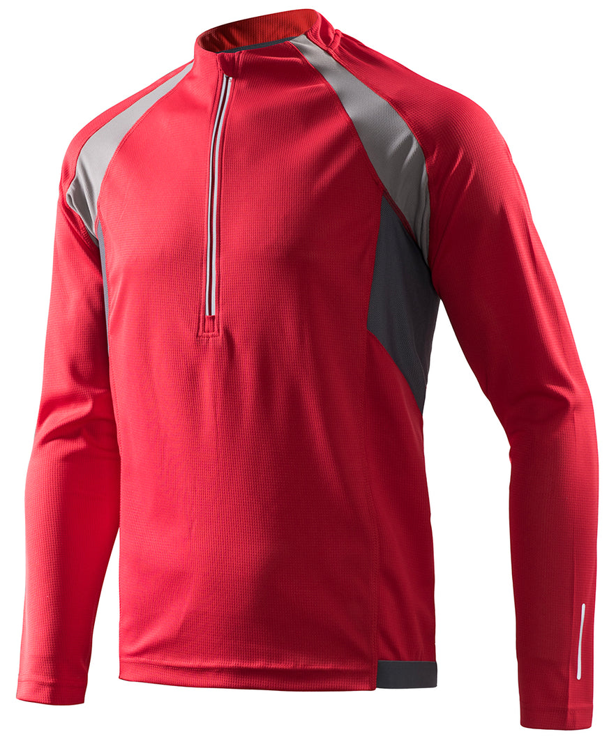Men's Cycling Bike Jersey MTB-Red