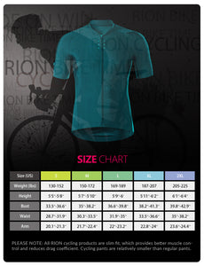 Men's Cycling Bike Jersey MTB-Green