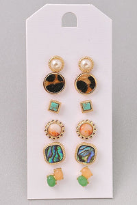 Make a Statement Stud Earrings