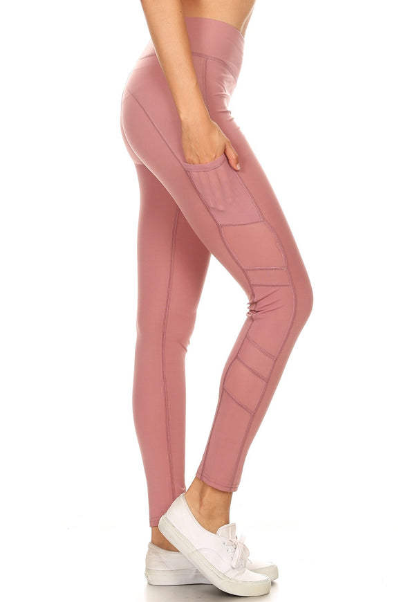 Mesh Side Leggings