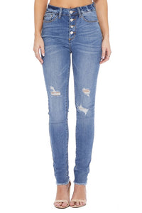 Button Fly Jeans