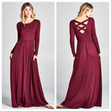 The Criss Cross Maxi