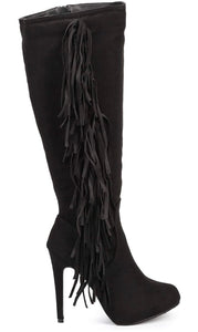 Out West Fringe Boots