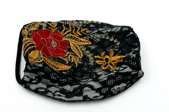 Lace Paisley Facemasks