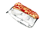 Two Tone Luxury Red/White Paisley Facemask