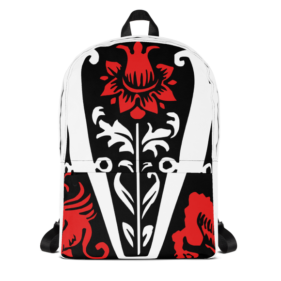 The Red Rose Backpack