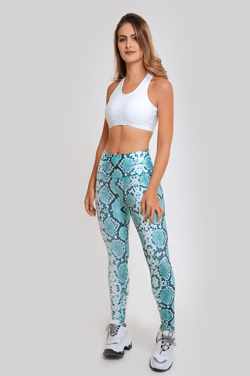 SNAKE SKIN HIGH RISE LEGGING