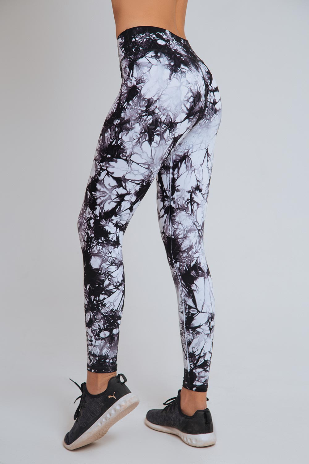 TIE DYE ESSENTIAL HIGH WAIST LEGGING
