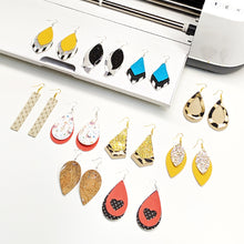 Load image into Gallery viewer, Best Sellers Faux Leather Earrings SVG File Bundle