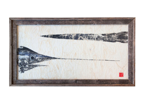 Swordfish Original Print