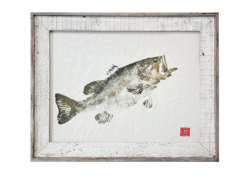 Largemouth Bass Original Print