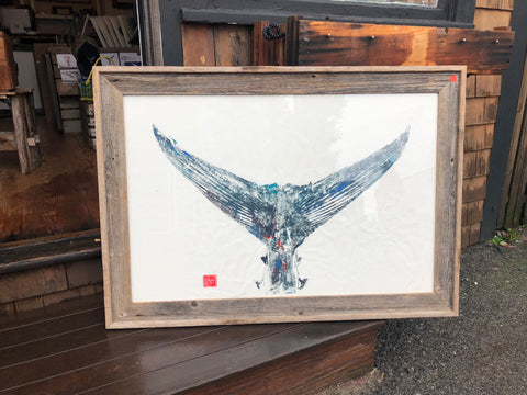 Tuna Tail - Original Framed Print