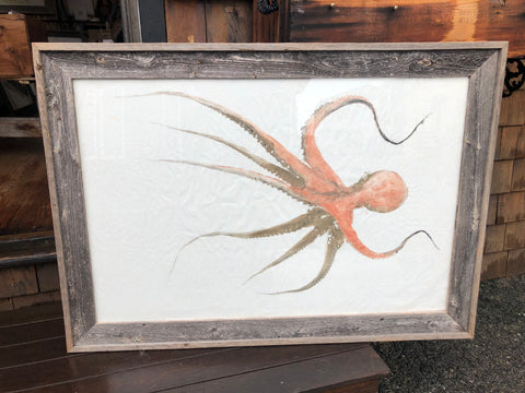 Octopus - Original Framed Print
