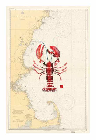 Copy of Cape Elizabeth Maine to Cape Cod with Lobster