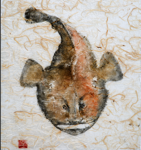 Monkfish original print