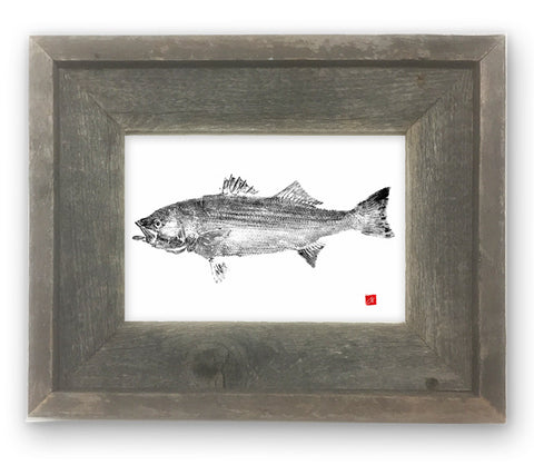 Small Framed Striper