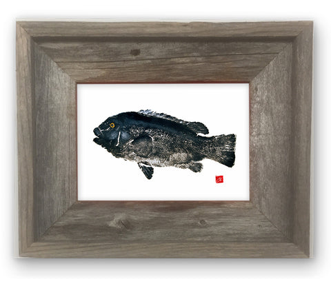 Small Framed Tautog