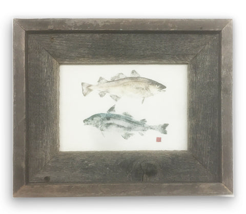 Small Framed Codfish and Haddock