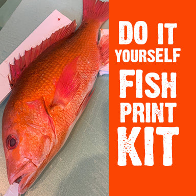 Fish print class-the fish print Kit