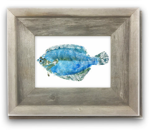 Small Framed Flounder